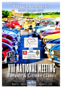VIII° National Meeting Staggia Senese