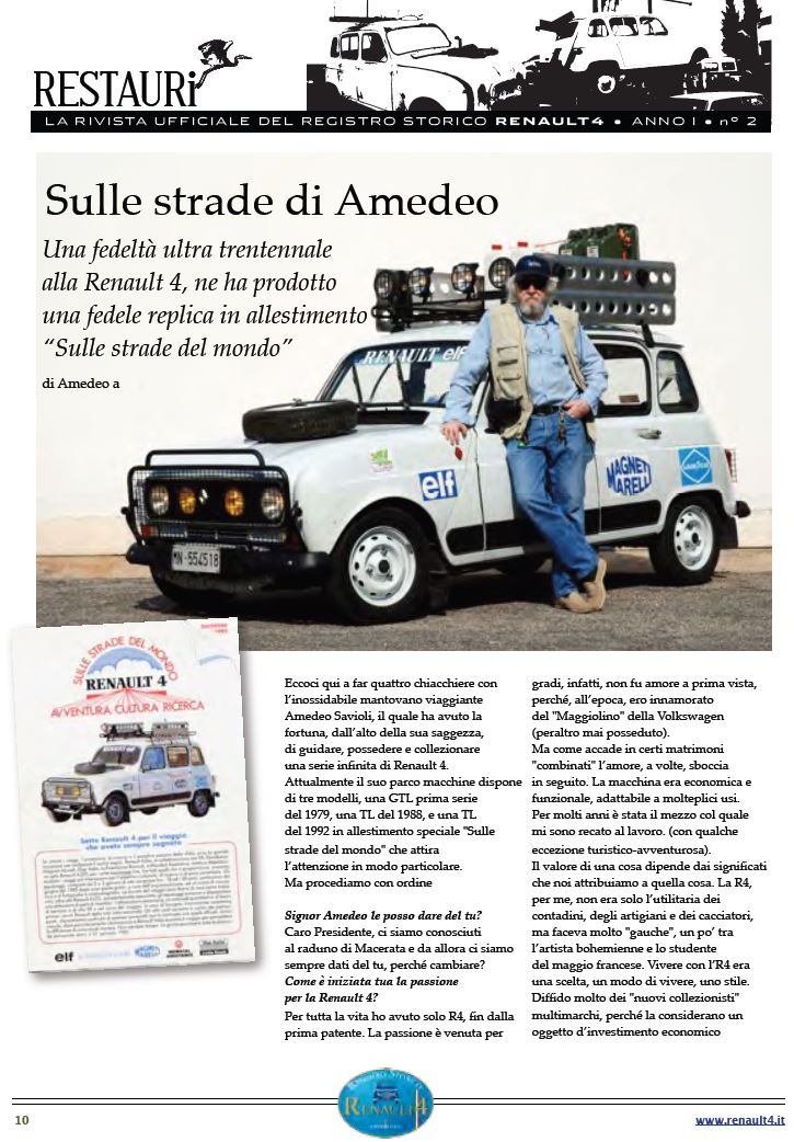 intervista Amedeo