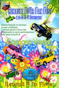 Renault Four Fan Fest 2016 Cagnano Varano
