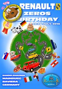 Renault Zeros Birthday